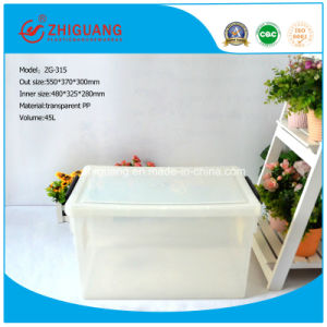 500*370*300 Materials Top Quality Portable Plastic Storage Box pictures & photos