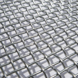 China Manufacturer Good Quality Galvanized Woven Square Wire Mesh pictures & photos