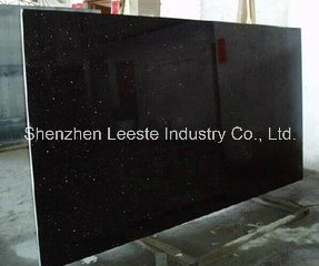 Hot Sale Good Quality Polished Black Galaxy Granite Slab pictures & photos