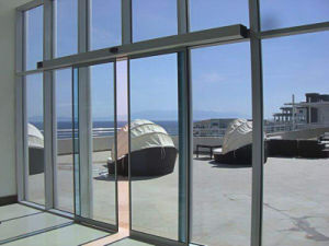 Automatic Sliding Doors for Building Entrance pictures & photos