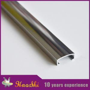 U Shape Tile Trim for Aluminum and PVC with Haoshi Brand pictures & photos