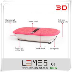 2015 Lemes New 3D Two Motors Ultrathin Vibration Plate Massage Machine pictures & photos