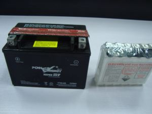 YTX9-BS 12V9ah Dry Charged Maintenance Free Motorcycle Battery pictures & photos