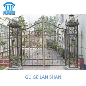 High Quality Crafted Wrought Iron Gate/Door 034 pictures & photos
