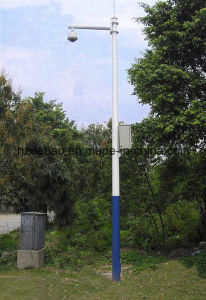 Galvanized Steel CCTV Camera Pole