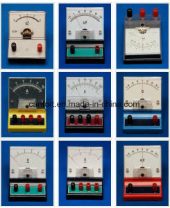 School Supplies Educational Equipment DC Ammeter/Current Meter J0407 (flat) pictures & photos