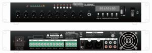 Public Address Mixer Amplifier with USB, SD, FM, Bluetooth, Echo, 6 Zones, Ta Series pictures & photos