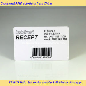 Full Colors Printed Plastic Card with Barcode for Pharmacy Card pictures & photos