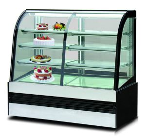 Commercial Bakery Refrigerated Antifogging Cake Display Fridge pictures & photos