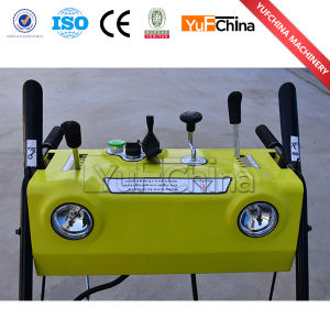 Hot Sale Gasoline 6.5HP Snow Sweeper Blower pictures & photos