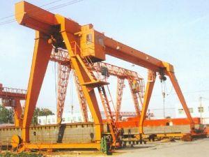 L Type Warehouse Single Girder 5 Ton Mobile Gantry Crane for Sale pictures & photos