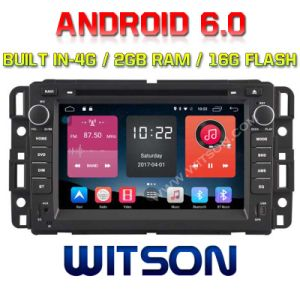 Witson Quad-Core Android 6.0 Car DVD Player for Gmc Yukon/Suburban 2g RAM Bulit in 4G 16GB ROM pictures & photos