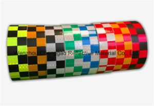 2′′pvc Luminescent Reflective Grid Material for Vehicle, Truck and Car pictures & photos