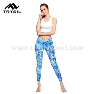 Hot Sale High Quality Women Gym Wear Full Length Leggings pictures & photos