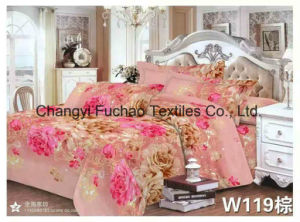 Poly/Cotton Material Bedding Set Manufacture Wholesale Bed Sheet pictures & photos