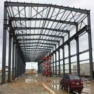 Ghana Modular Steel Structure Warehouse with 6000m2 pictures & photos