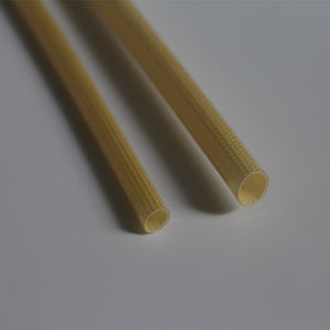 PU Fiberglass Insulation Sleeving Coated with a Polyurethane Varnish pictures & photos