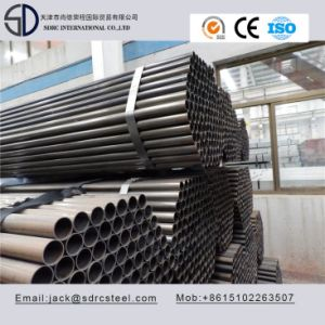 Ss330 Carbon Round Black Annealed Cold Rolled Steel Pipe pictures & photos
