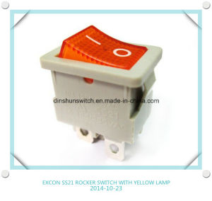 Excon Ss21 Power Rocker Switch with Lamp for Printer pictures & photos