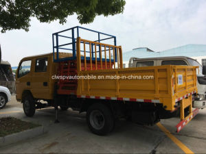 8-10 Meters Double Cab High Lift Platform Truck pictures & photos
