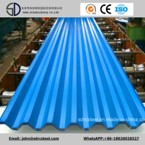 PPGI Gi Color Coated Galvanized Corrugated Steel Roofing Sheet pictures & photos