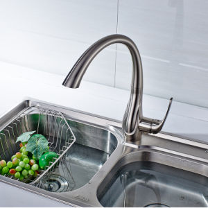 Spring Style Kitchen Faucet Pull out Wash Sink Tap pictures & photos