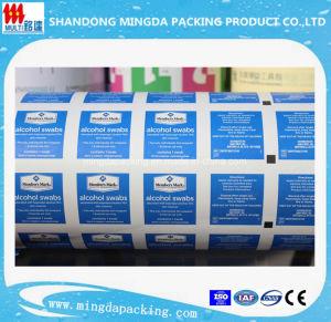 Medical Aluminium Foil Paper for Alcohol Prep Pads pictures & photos