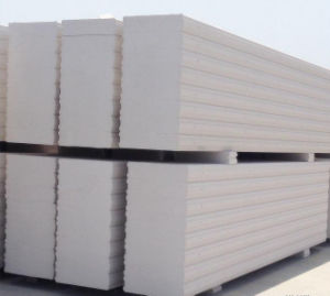 Precast Galvanized Steel Reinforced AAC Wall Panel pictures & photos