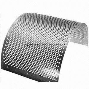 SUS304 Stainless Steel Decorative Metal Perforated Sheet/ Round Hole Perforated Metal Sheet (XM-11) pictures & photos