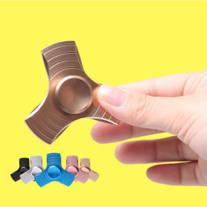 Fidget Spinner UFO Tri-Spinner Zinc Hand Spinner Aluminum Alloy Fidget Toy Anxiety Stress Adults Kid Metal Spinner pictures & photos