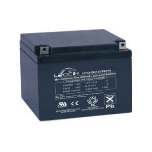 12V 26ah Lead Acid Deep Cycle Solar Battery with UL Approved pictures & photos
