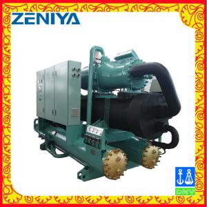 Low Noise Screw Chiller with Energy Recovery for Refrigeration pictures & photos