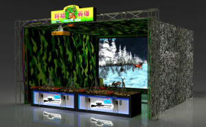 Best Quality Hunting Game Shooting Machine with 4 Guns pictures & photos
