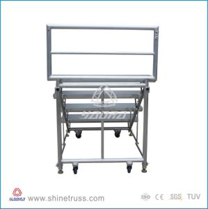 Hot Sell Choral Riser Aluminum Folding Choir Stage pictures & photos