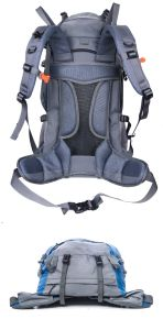 60L+5L Camping Hiking Backpack for Light Travel pictures & photos