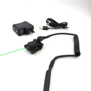 Improved New Subcompact Direct Rechargeable Green Laser Sight with Remote Tail Pad Switch (ES-LS-HY07G) pictures & photos
