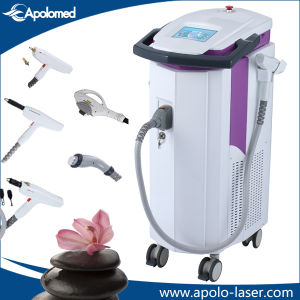 Best Mutifunctional IPL RF +Q Switch ND YAG Laser+E-Light Hair Removal Machine pictures & photos