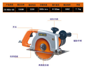 1500W/180mm Kynko Powerful Professional Marble Cutter (6361) pictures & photos