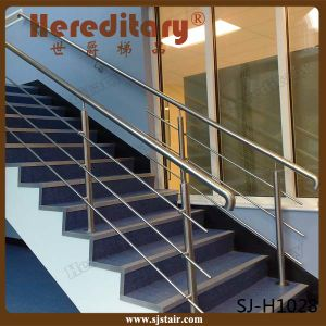 Side Mount Stainless Steel Rod Railing In Stair Parts (SJ H1603)