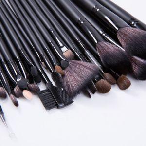 Wisdom Wholesale Professional Black 32PCS/Set Makeup Brush Kits pictures & photos