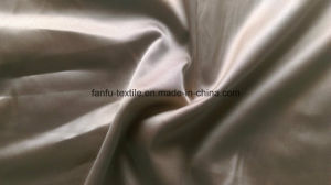 100% Polyester Full Dull Spandex Twisted Satin Fabric pictures & photos