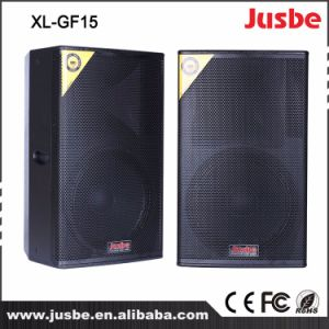 OEM Factory High Power Wooden Double 15 Inch DJ Speakers 800W pictures & photos