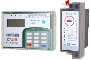 DIN Rail Mounting Sts Kwh Keypad Split Prepaid/Prepayment Energy Meter pictures & photos