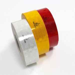 Pet Clear ECE104 Reflective Tape for Vehicles Red Yellow White Colors pictures & photos