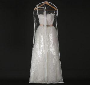Plus Size 1.8m Zipper Transparent PVC Dress Storage Bag pictures & photos