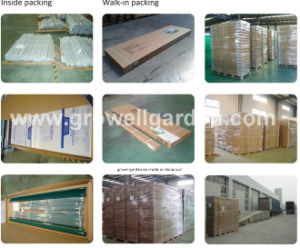 2.1m*3.5m Polycarbonate and Alu. Frame Hobby Greenhouse (HB712) pictures & photos