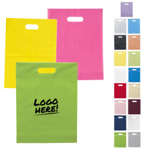 Promotional Die Cut Plastic Bags (PM008) pictures & photos