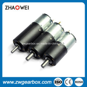 12V 32mm Low Power High Torque Small Gear Motor pictures & photos
