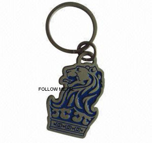 Key Chain with Lion Logo for Promotional Gift pictures & photos