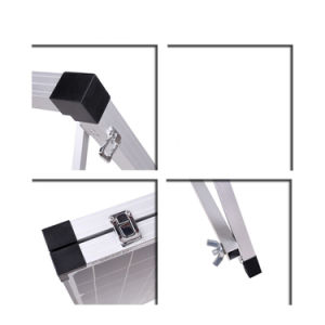 200W (2PCS X100W) Foldable Monocrystalline Silicon Solar Panel pictures & photos